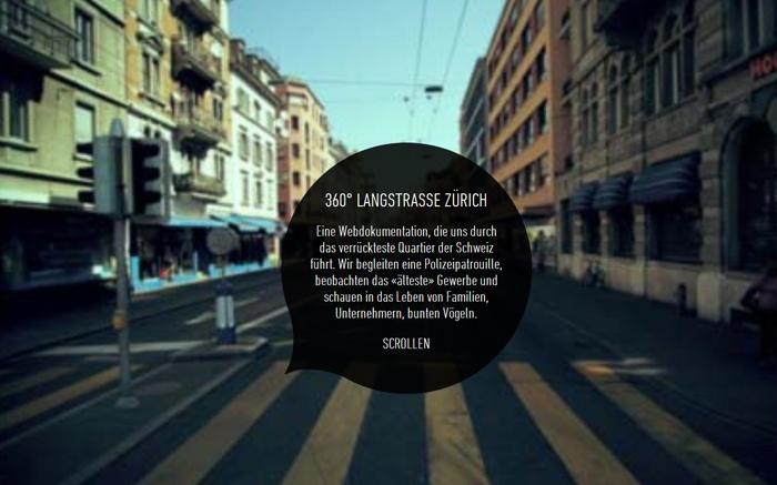 360° Langstrasse Zürich  Best Website of September