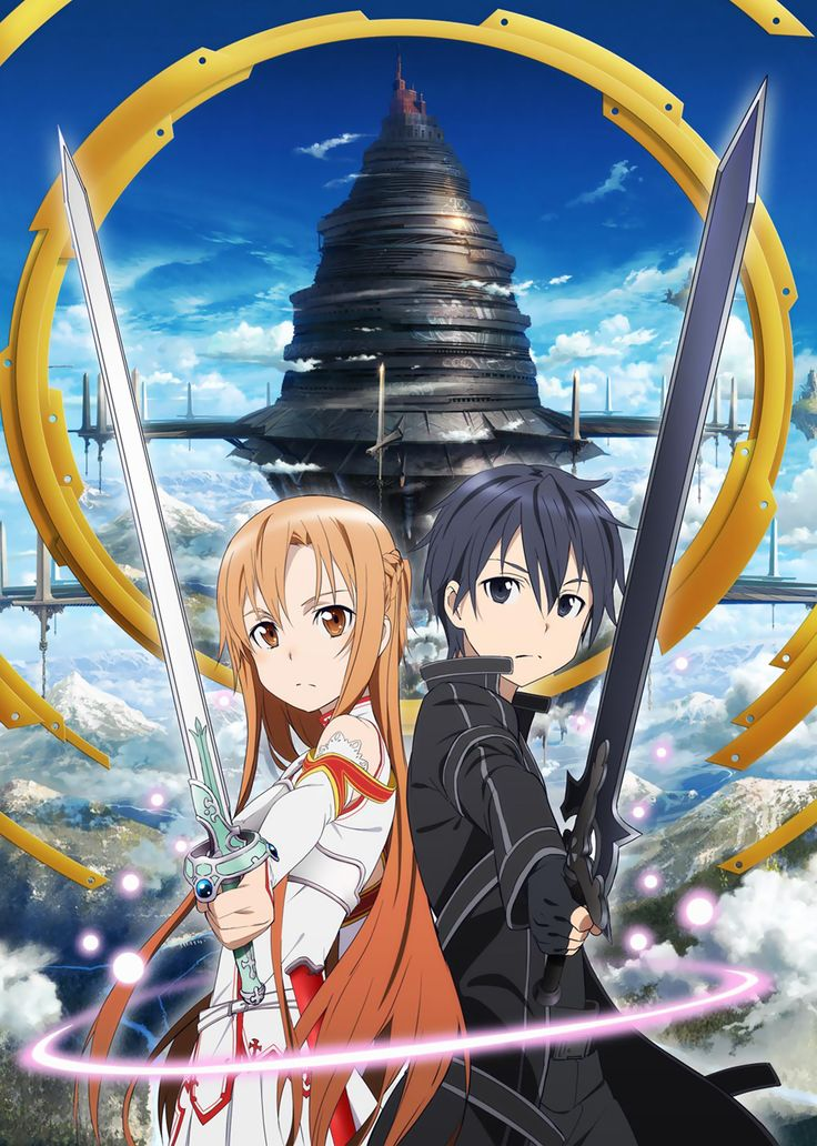Only possibly the second best show I've ever seen!! SAO! Asuna and Kirito for life!