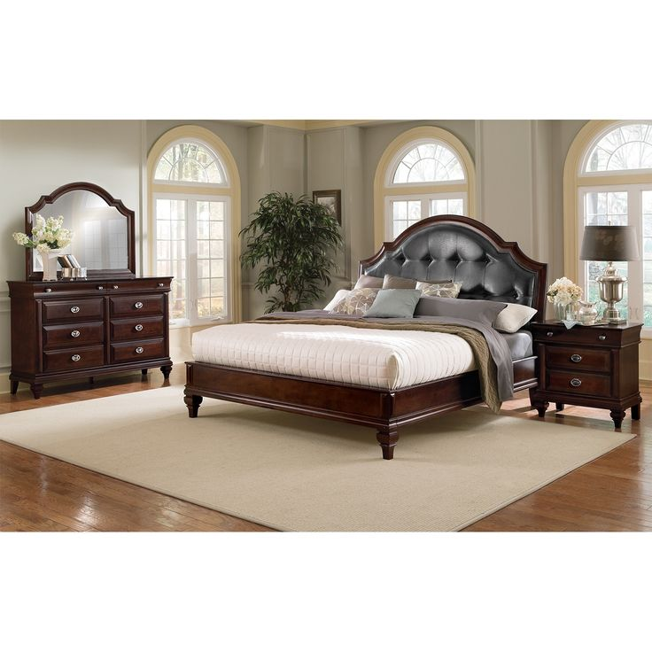 Manhattan 6 pc king bedroom value city furniture