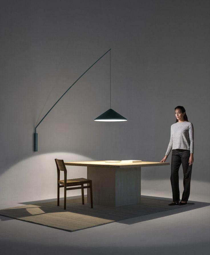 LED carbon fibre wall lamp NORTH - @vibialight