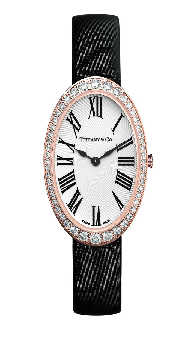 Tiffany & Co. Explains Value of Cocktail Watches for Women - Tiffany & Co. chose to use Swiss quartz as opposed to mechanical movements because they felt more women wanted quartz movements, and because it allowed the cases to be much slimmer.