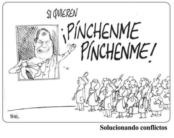 La Caricatura de #Bonil del 30 de enero del 2014. Más #caricaturas en: www.eluniverso.com/caricaturas