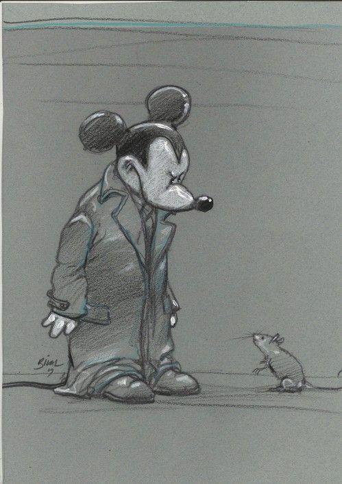 Hommage a Mickey Mouse Enki Bilal