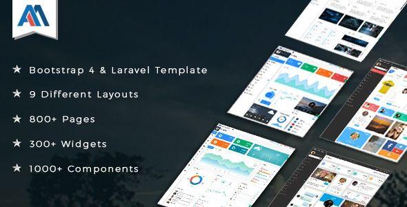 Admire Bootstrap 4 Admin Laravel Template Best Premium Html