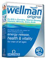 Vitabiotics Wellman Ειδικά Σχεδιασμένη Για Άνδρες 30Tabs. Μάθετε περισσότερα ΕΔΩ: https://www.pharm24.gr/index.php?main_page=product_info&products_id=4198
