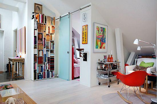 sliding door: Interior Design, Decor Ideas, Dream, Interiors, Living Room, Apartment, Sliding Doors