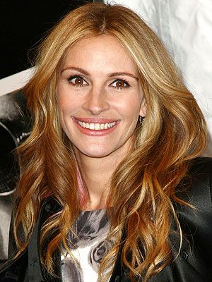 Julia Roberts. One person I'd be totally star struck with, then I'd hug and squeeze her and ask her to be my BFF