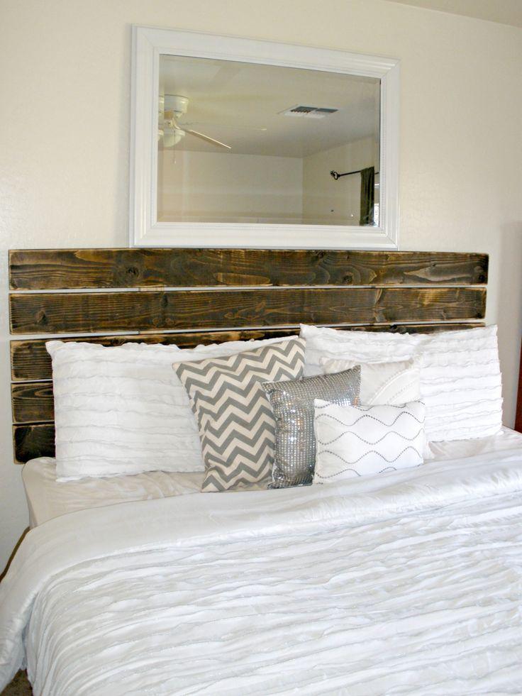Best 25 modern comforter sets ideas on pinterest white for Diy modern headboard