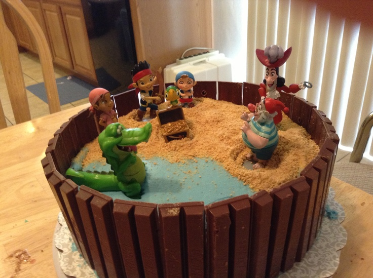 of this one! My sons Jake and the Neverland Pirates birthday cake ...