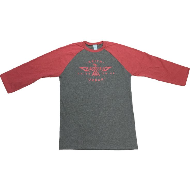 DARK GREY PHOENIX 3/4 TEE - $35 - http://keithurban.net/shop/apparel/7622/dark-grey-phoenix-3-4-tee