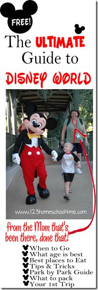 The Ultimate Guide to #Disney World  - Lots of great information from a Mom who has been there done that.