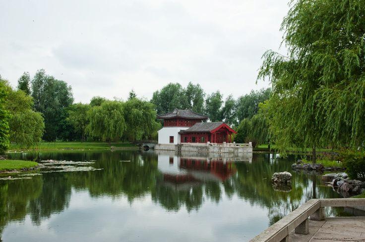 The recreation park in Berlin-Marzahn, it's like a little piece of Asia!