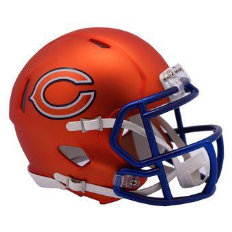 Riddell Chicago Bears Blaze Revolution Speed Mini Football Helmet #bears #chicago #nfl