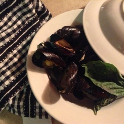 Recipes » T-fal ActiFry - Steamed Mussels