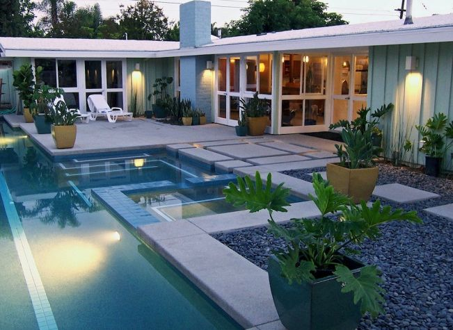 Modern houses california