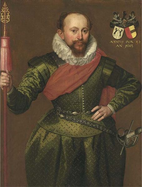 Supposedly Captain of a Trained Band, by the Circle of Marcus Gheeraerts the Younger,  Date	1603