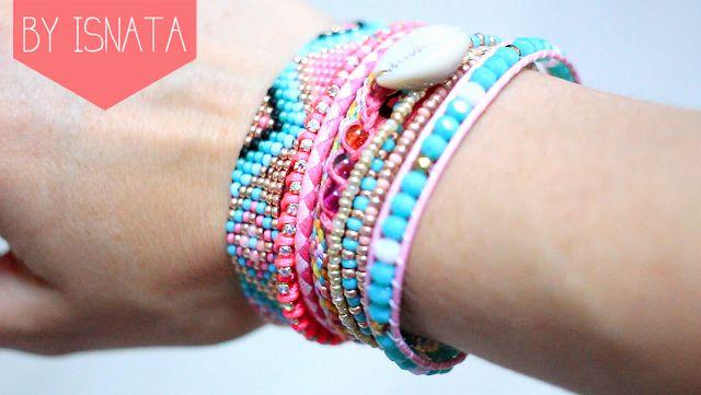 DIY : Le Bracelet Hipanema By Isnata ^_^