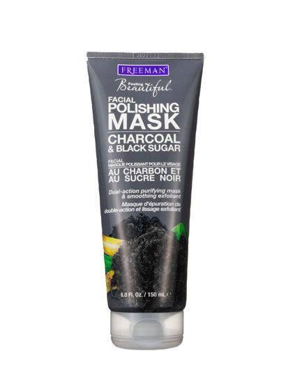 Freeman Facial Polishing Mask Charcoal & Black Sugar   allure.com