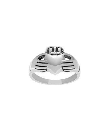 Sterling Silver Claddagh Ring #zulily #zulilyfinds