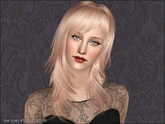 Vila Real Lilith Sims 4 Hair – Billy Knight