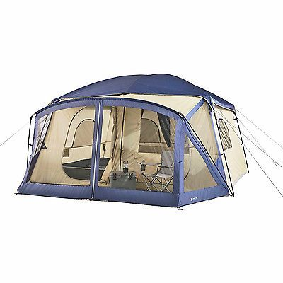 Outdoor Canopy Tent Screen House 12-Person Cabin Porch Sleeper Camping Bed Hiker