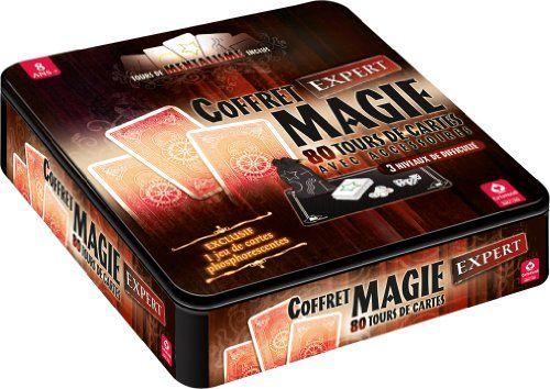 Cartamundi – 106747997 – Jeu De Cartes – Coffret Magie 80 Tours: Descriptif produit: deviens un expert des tours de magie, une difficulté…