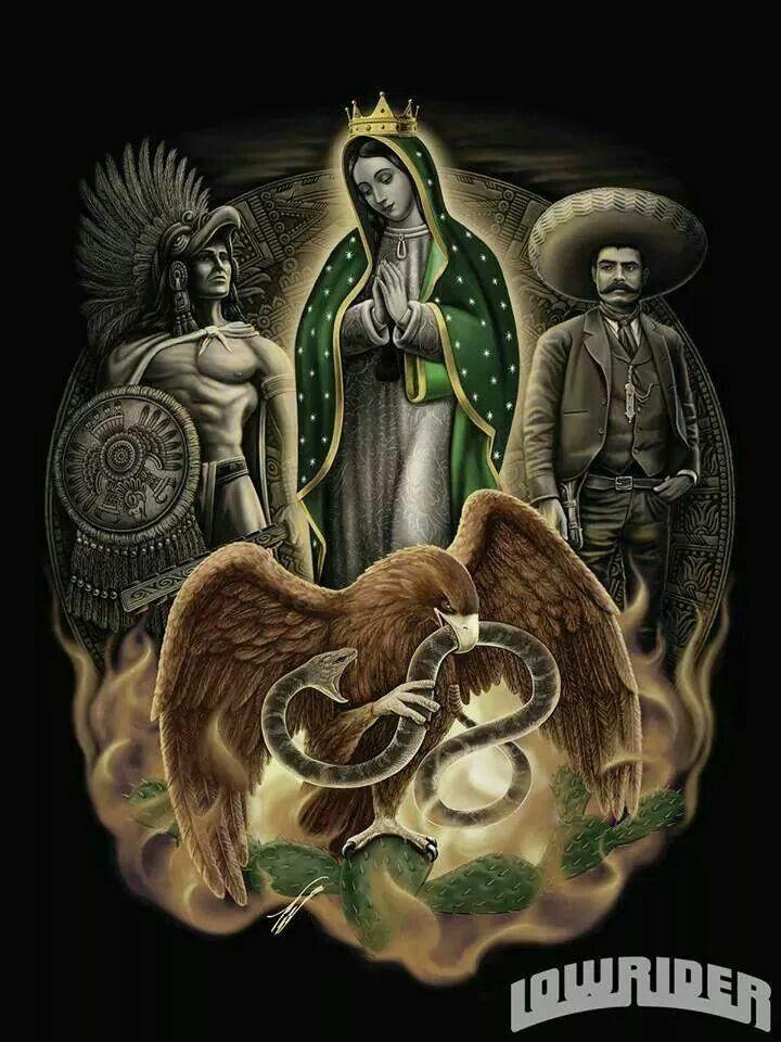 Brown pride mexican chicano art pinterest - Brown pride drawings ...