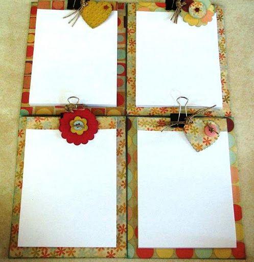 Pranchetas decoradas