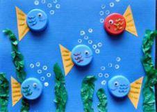Scuola in soffitta – Blog per mamme Giochi creativi per bambini con i tappi