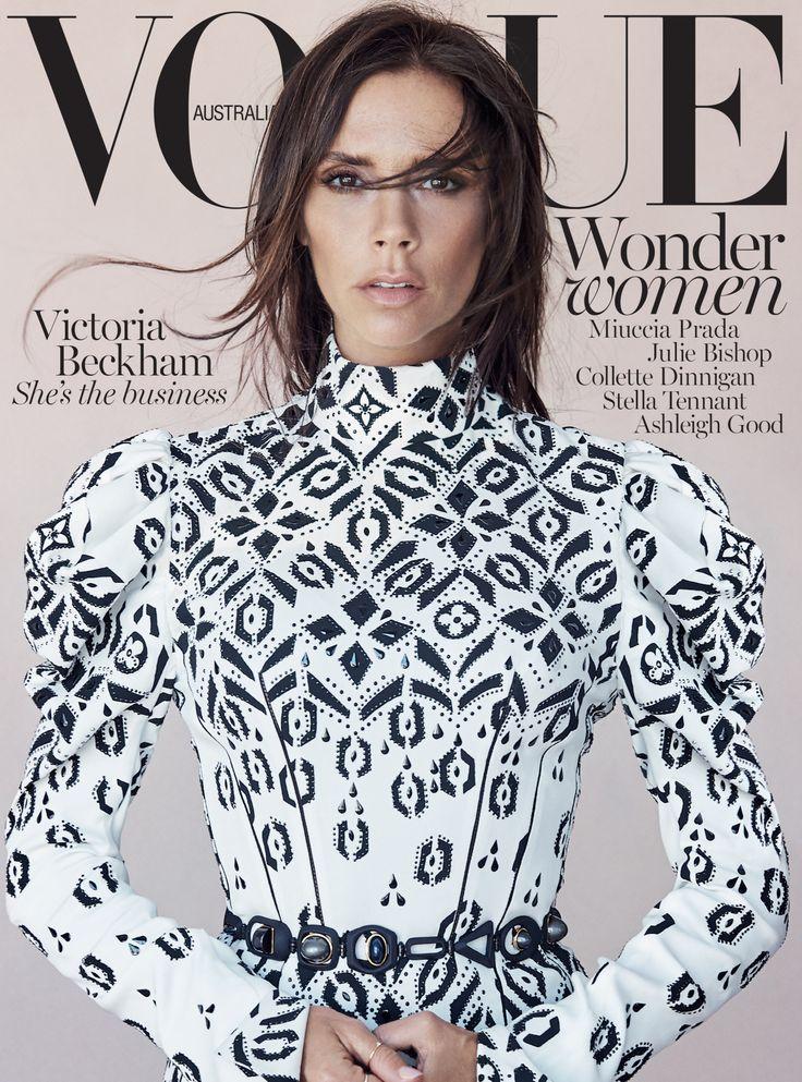 vogueaustralia Victoria Beckham for Vogue Australia