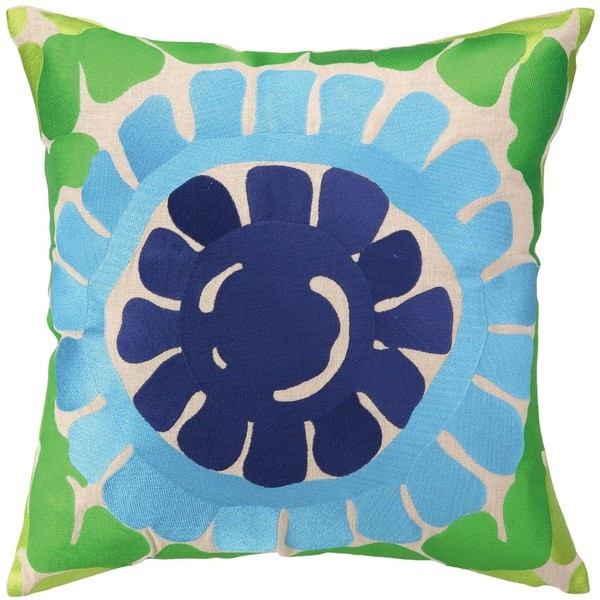 trina turk la jolla blue pillow 140 liked on polyvore