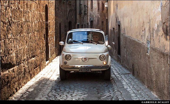 Old Fiat 500 in Orvieto | Gabriele Scalet Photography