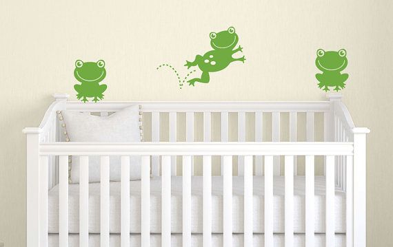 Frog+Wall+Decal++Children+Wall+Decal++Frog+by+TweetHeartWallArt