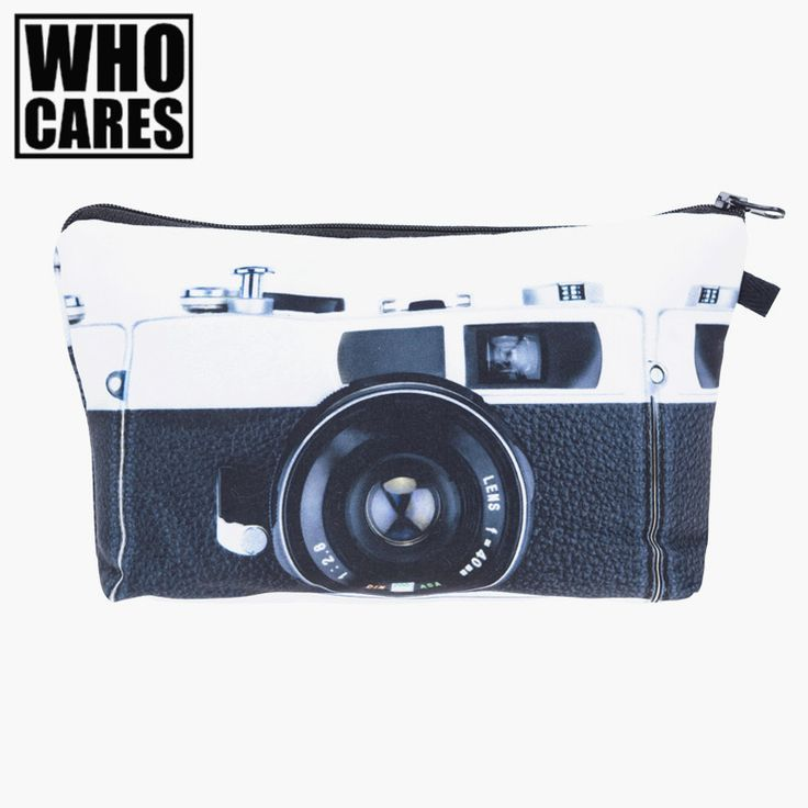 women cosmetic bags travel Picture - More Detailed Picture about Camera Scenery 3D Printing Necessaire Women Cosmetics Bags Travel Make up Bag Fashion Organizer Maleta de Maquiagem Makeup Bag Picture in Cosmetic Bags & Cases from who cares luggage & bags store | Aliexpress.com | Alibaba Group