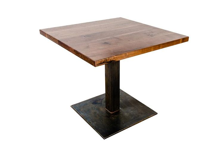 Our wood Bistro table is a great solution forsmall spaces, whether it be residential, commercial or public.
