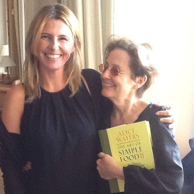 Con Alice Waters