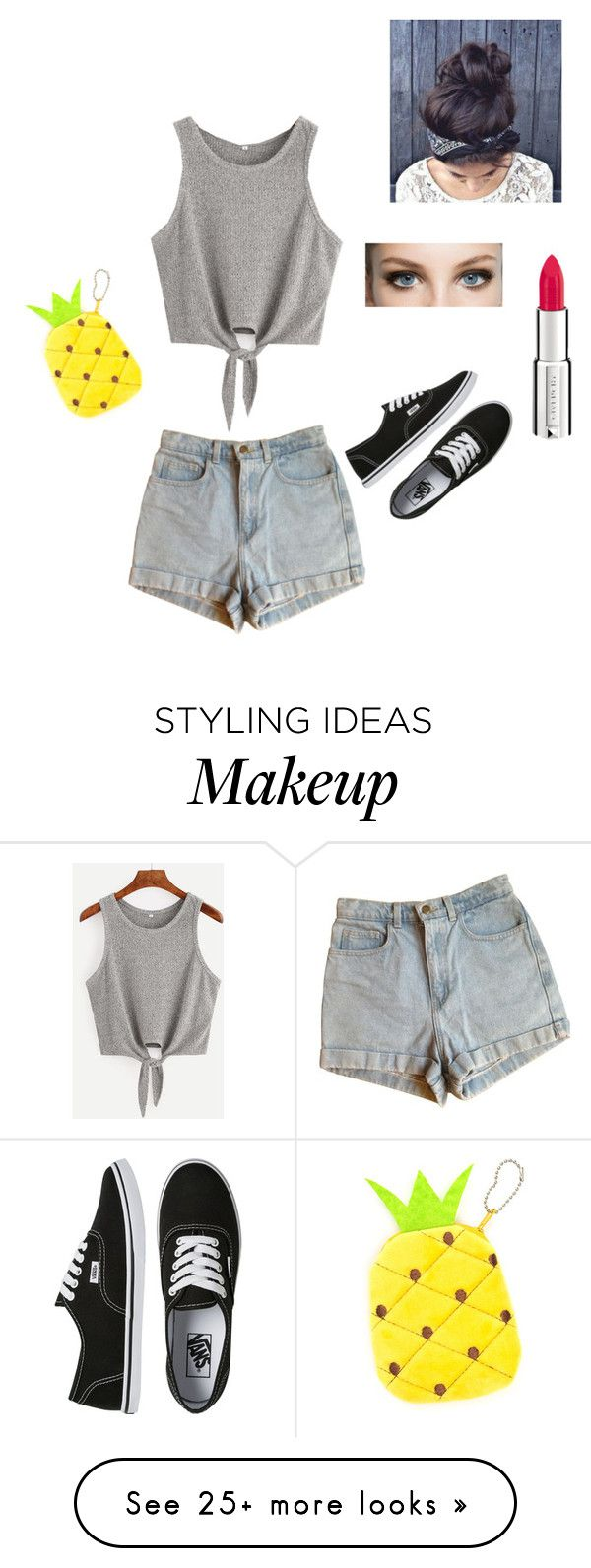 """Left alone"" by lorrainemarie on Polyvore featuring American Apparel, Vans and Givenchy"