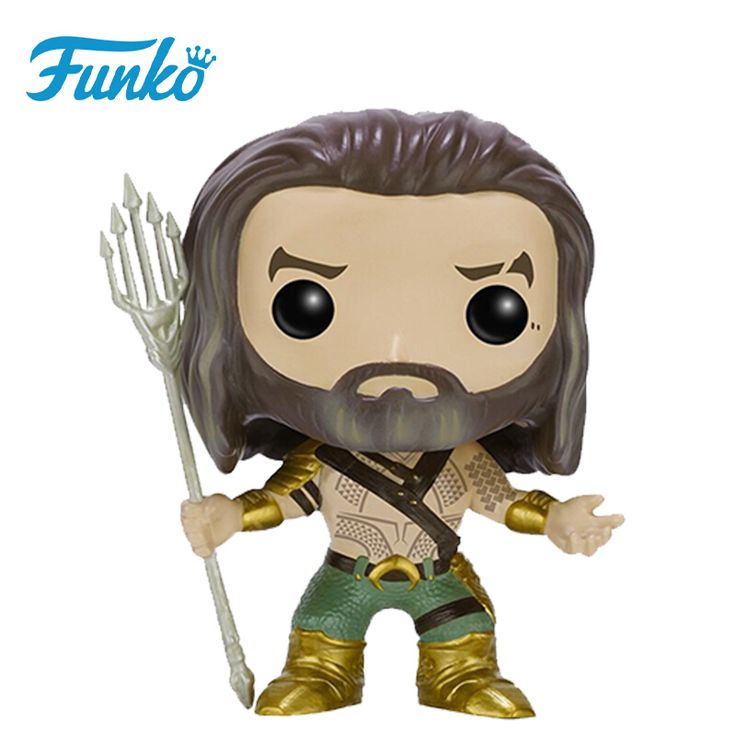 awesome POP Heroes Dawn of Justice Aquaman DC Collectibles Figurines