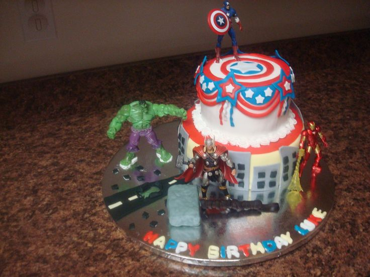 Birthday Cake Thor