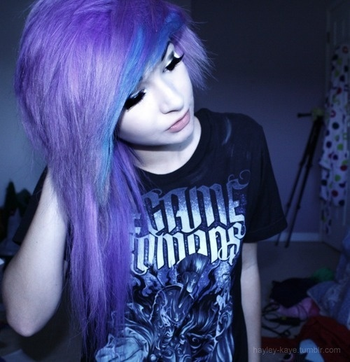 emo hair tumblr best hair styles pinterest my hair
