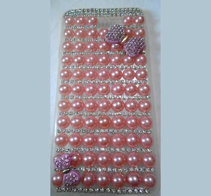 Samsung J7 Bead and Stand Setting Back Cover - TC - MB002