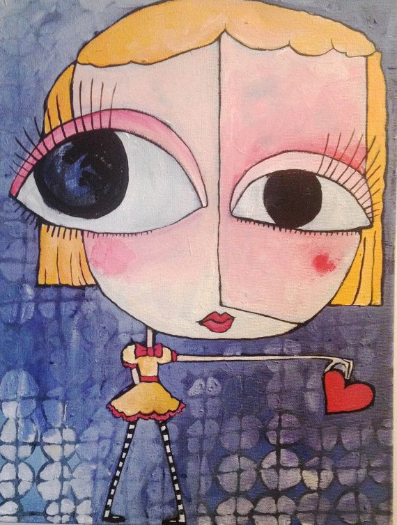 Original+Acrylic+Painting++Lead+Me+To+The+Truth+by+BriellenBaker,+$70.00
