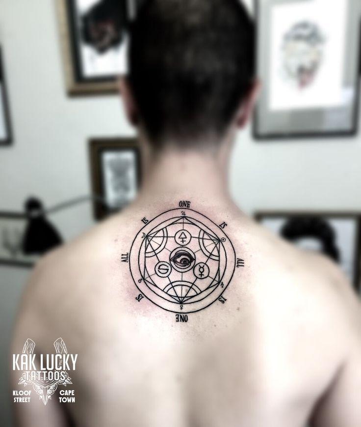 Sacred Geometry tattoo by Gareth Doye  #kakluckytattoos #sacredgeometry #tattoos #lineworktattoo #geometrictattoo #occult #occulttattoo #ink #necktattoo #minimalismtattoo #tattoo #geometry #geometryart #occultart