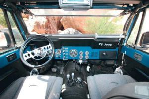 View 0609 4wd 08 Z+1981 Jeep Cj 8+interior Dashboard View - Photo 8530443 from 1981 Jeep CJ-8 Scrambler - Aqua Adventurer