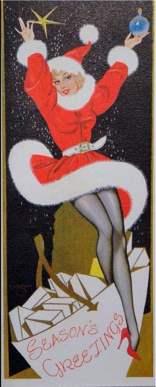 Vargas Christmas card.