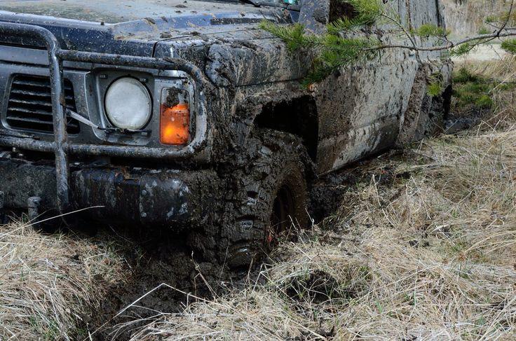 Nissan Patrol In the Mud