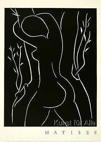 Henri Matisse - Pasiphae Embracing An Olive Tree