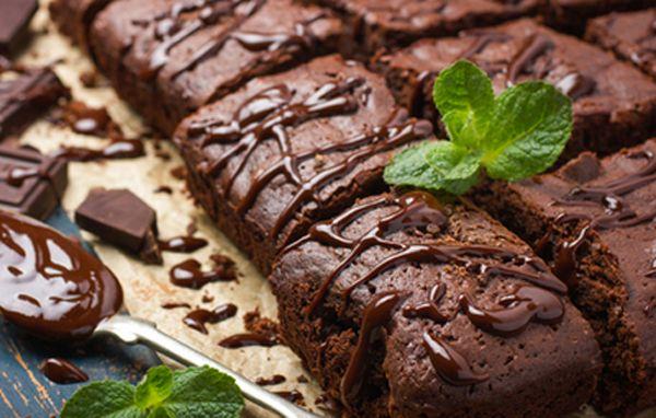 Μπράουνις σοκολάτα – μέντα