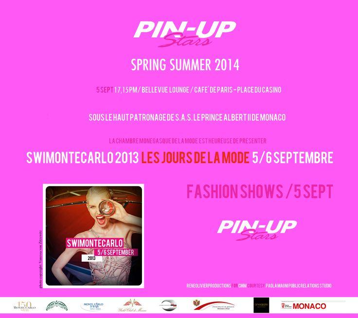 #PinUpStars #Fashionshows #beachcouture #swimwear #fashion #SS2014