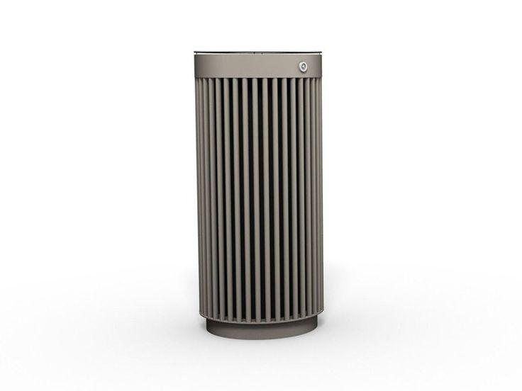 Outdoor waste bin with ashtray LITTER BIN 120 Litter Bin Collection by BENKERT BÄNKE
